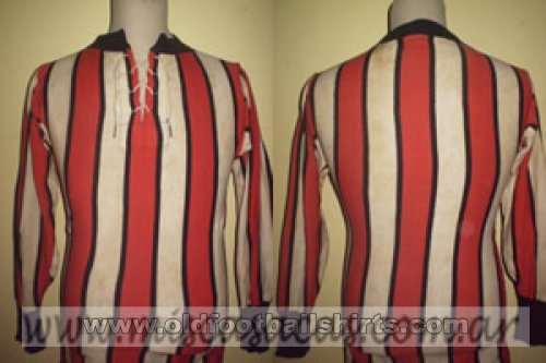 River Plate Thuis  voetbalshirt  1920 - ?