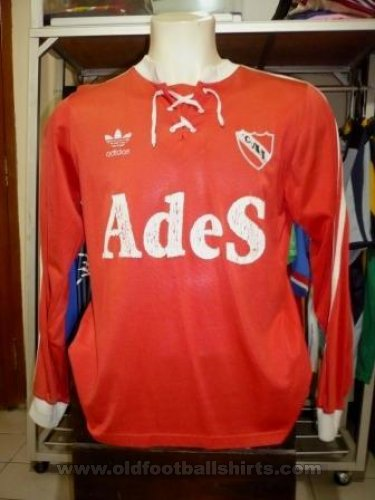 Independiente Home Fußball-Trikots 1985 - ?