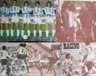 Racing Club Home baju bolasepak 1973 - ?
