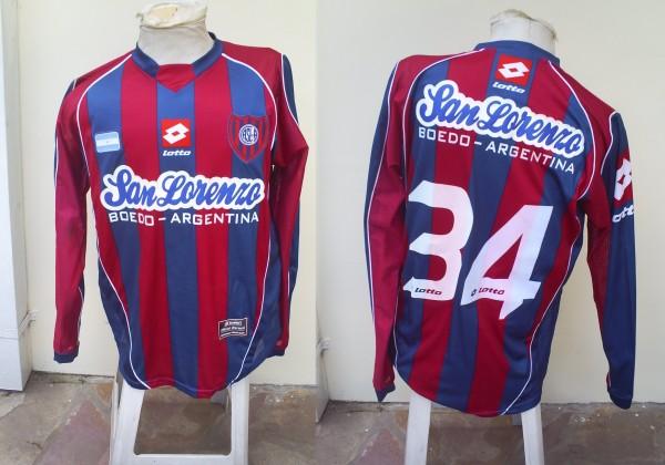 shirt san lorenzo
