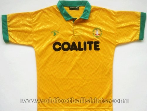 Chesterfield Away football shirt 1990 - 1992