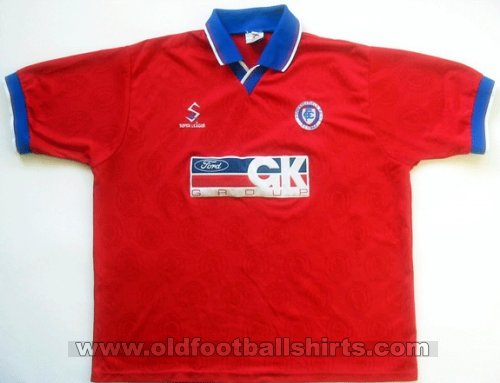 Chesterfield Away football shirt 1997 - 1998