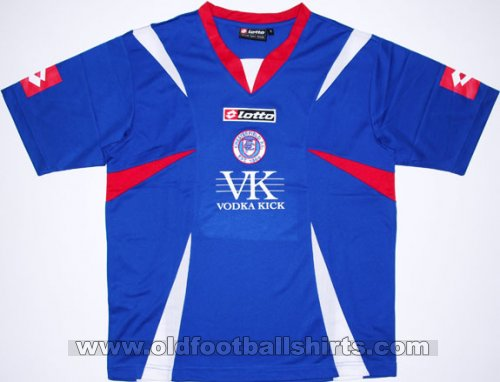 Chesterfield Home football shirt 2007 - 2008