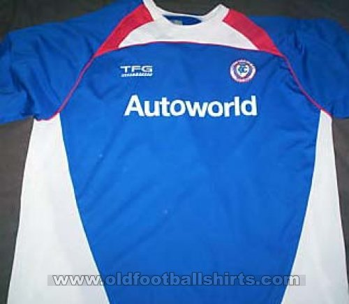 Chesterfield Local Camiseta de Fútbol 2006 - 2007