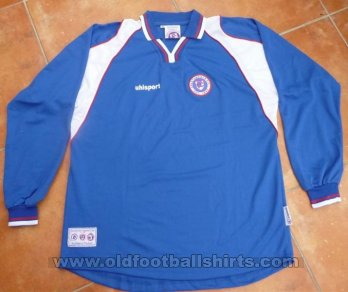 Chesterfield Thuis  voetbalshirt  2003 - 2004