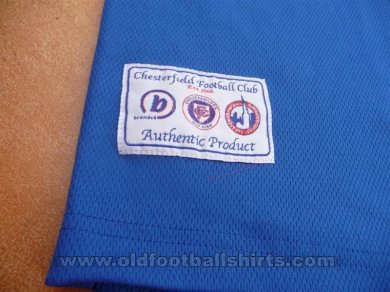 Chesterfield Home football shirt 2003 - 2004