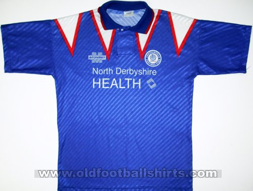Chesterfield Thuis  voetbalshirt  1994 - 1996