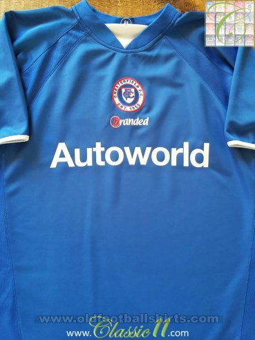 Chesterfield Home baju bolasepak 2004 - 2005