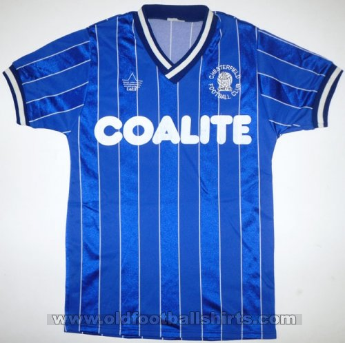 Chesterfield Domicile Maillot de foot 1986 - 1987