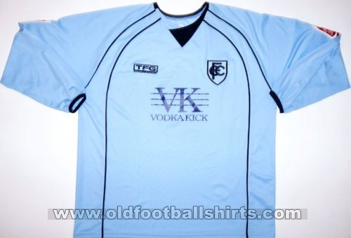 Chesterfield Away baju bolasepak 2006 - 2007