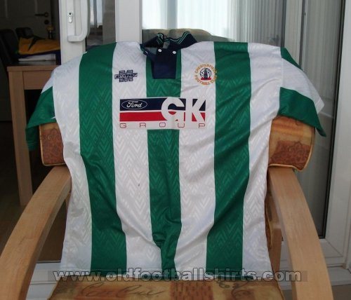 Chesterfield Away football shirt 1995 - 1996
