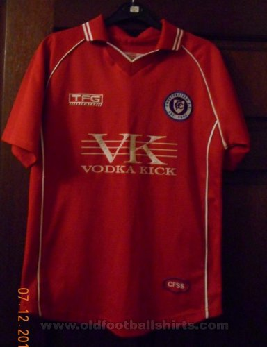 Chesterfield Away baju bolasepak 2007 - 2008