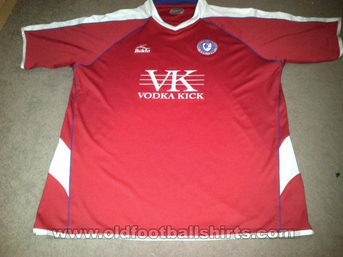 Chesterfield Away football shirt 2008 - 2010