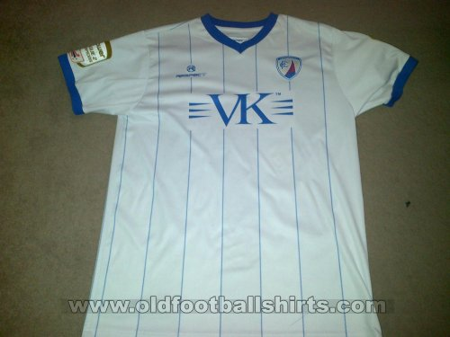 Chesterfield Away baju bolasepak 2011 - 2012