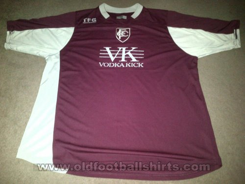 Chesterfield Away football shirt 2005 - 2006