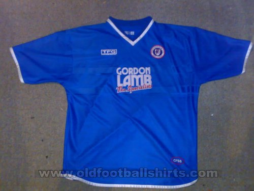 Chesterfield Home Fußball-Trikots 2001 - 2002