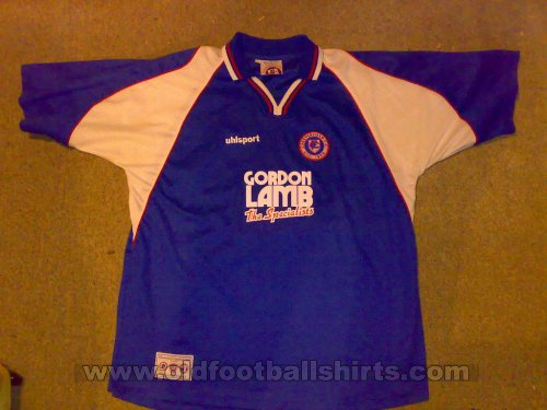 Chesterfield Domicile Maillot de foot 2003 - 2004