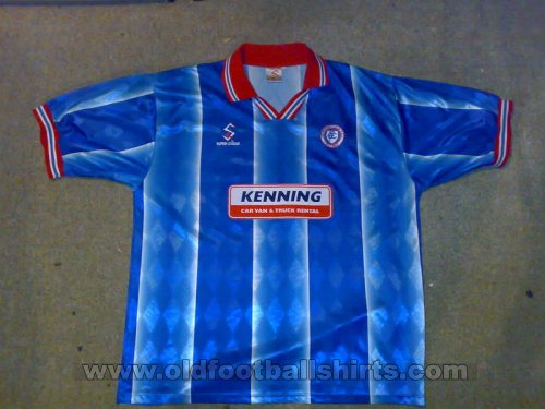 Chesterfield Home Fußball-Trikots 1998 - 2000