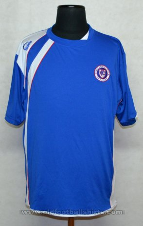 Chesterfield Home football shirt 2008 - 2009
