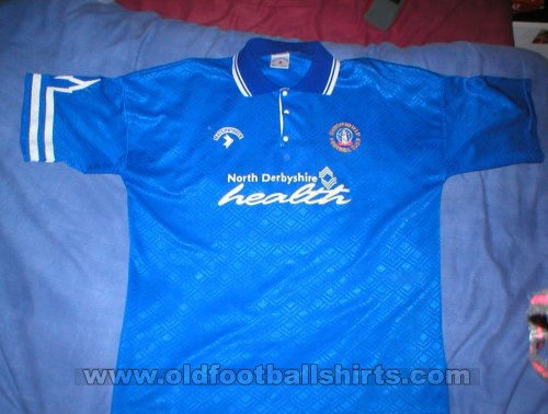Chesterfield Home football shirt 1992 - 1994