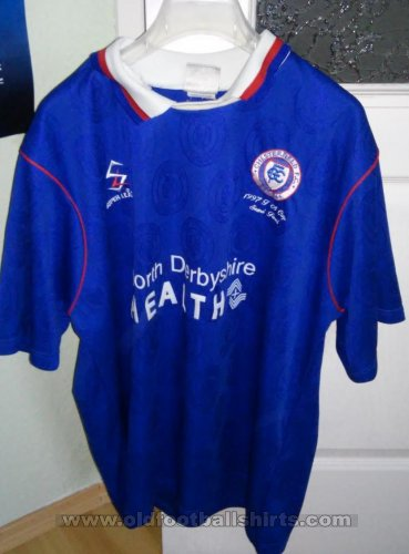 Chesterfield Local Camiseta de Fútbol 1996 - 1998