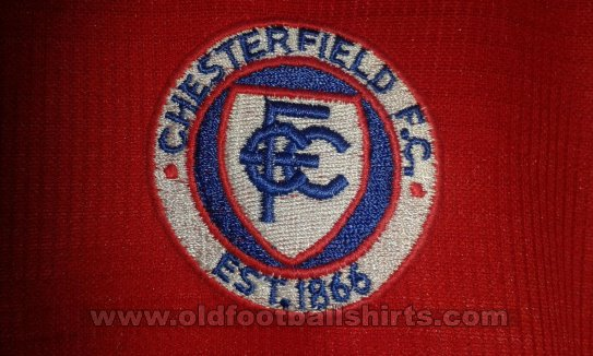 Chesterfield Special football shirt 2007 - 2008