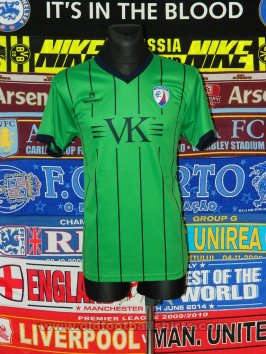 Chesterfield Third baju bolasepak 2010 - 2012