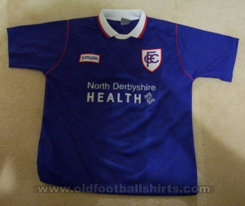 Chesterfield Thuis  voetbalshirt  1996 - 1998