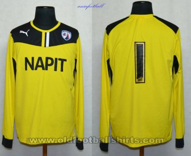 Chesterfield Goalkeeper football shirt 2013 - 2014