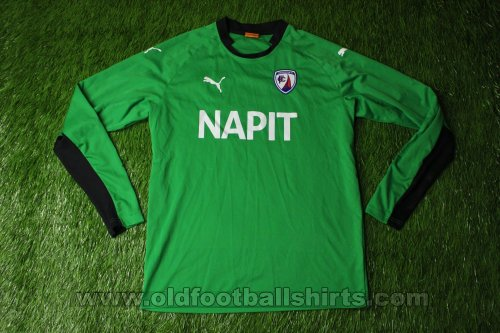 Chesterfield Goalkeeper football shirt 2014 - 2015
