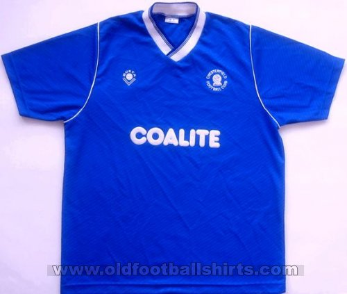 Chesterfield Home baju bolasepak 1988 - 1990