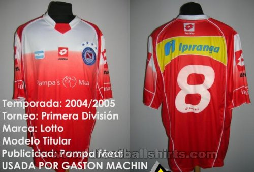 Argentinos Juniors Home football shirt 2004 - 2005