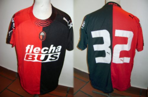 Colon De Santa Fe Detail: Camisetas Del Futbol Argentino 2000-2012