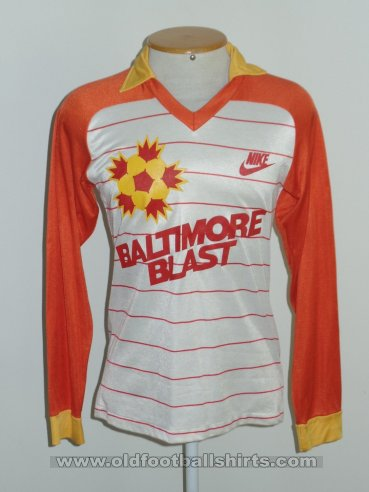 Baltimore Blast Home voetbalshirt  1983 - 1984
