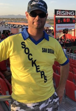 San Diego Sockers Home football shirt 1982