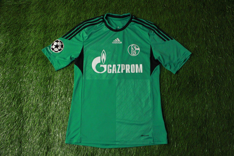 FC Schalke 04 Third football shirt 2013 - 2015. Sponsored by Gazprom