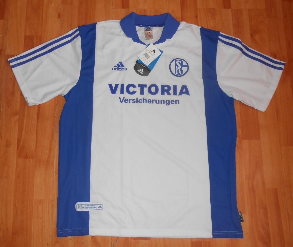 FC Schalke 04 Maglia da trasferta maglia di calcio 2001 - 2002 ...