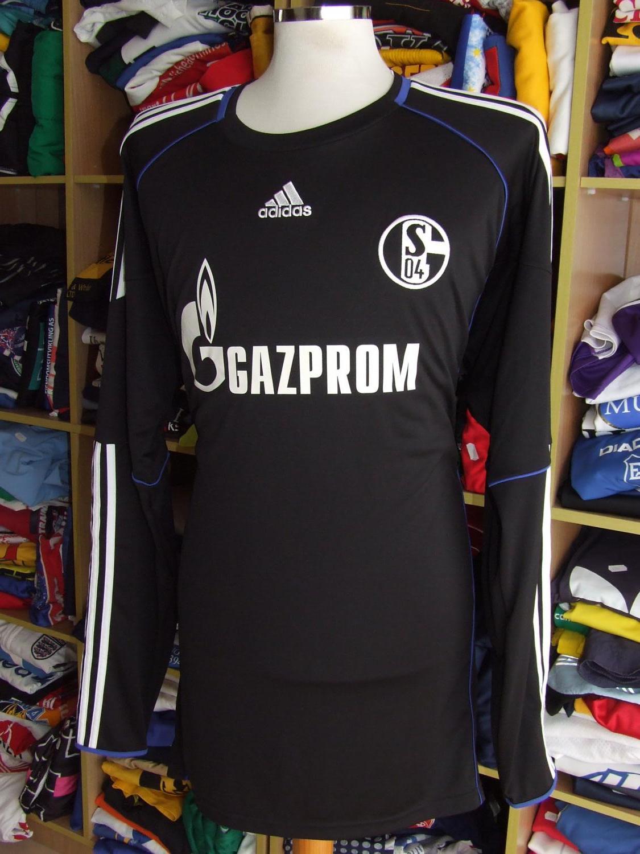 FC Schalke 04 Goalkeeper football shirt 2010 - 2011. Sponsored by ...