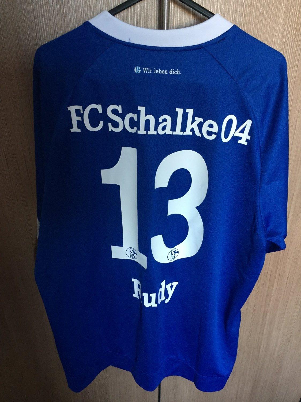 5e95b574b Campionato Nuovo FC Schalke 04 Home maglia di calcio 2018 - 2019 ...