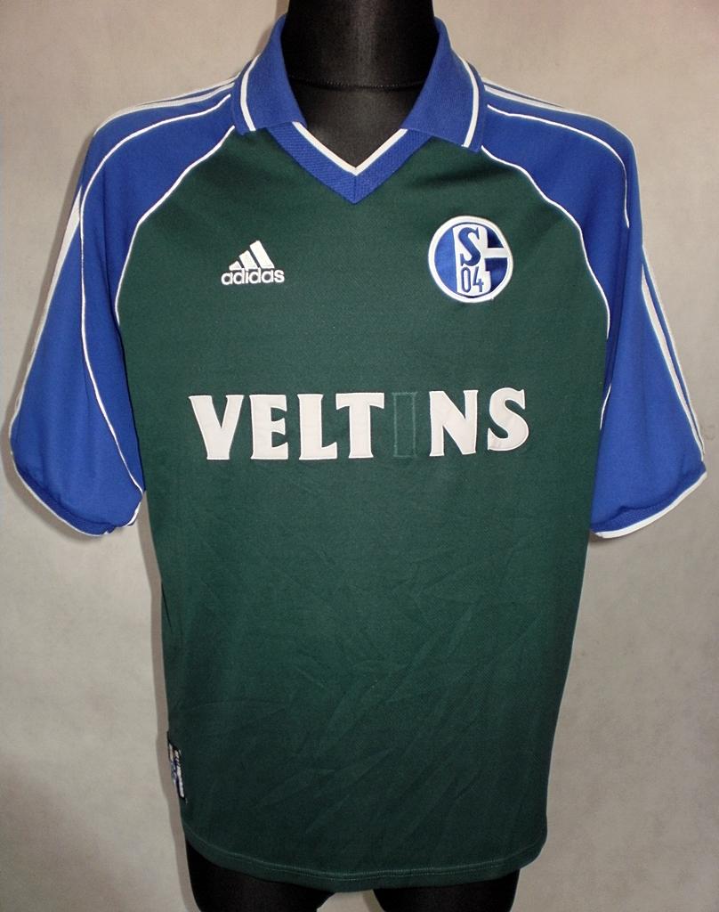 FC Schalke 04 Third football shirt 2000 - 2001. Sponsored by Veltins