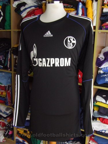 79cef419ab5 FC Schalke 04 Goalkeeper camisa de futebol 2010 - 2011. Sponsored by Gazprom