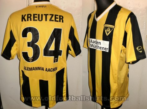 Alemannia Aachen Home football shirt 2009 - 2010