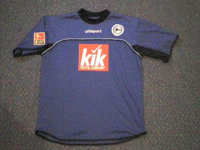 BL 83//84 Hamburger SV Arminia Bielefeld