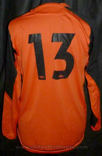 Tranent Juniors Gardien de but Maillot de foot 2008 - 2010