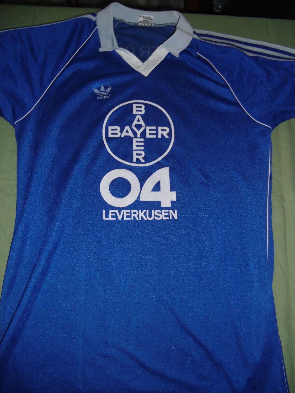 Bayer 04 Leverkusen Away football shirt 1980 - 1981. Added ...