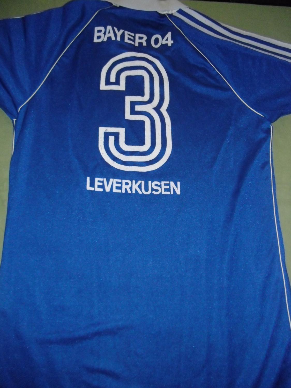 Bayer 04 Leverkusen Away football shirt 1980 - 1981. Sponsored by ...