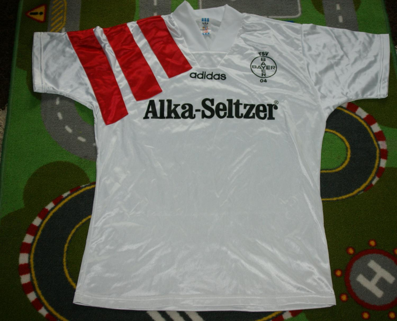 BAYER LEVERKUSEN (XXL) Jersey Trikot Shirt Alka Seltzer