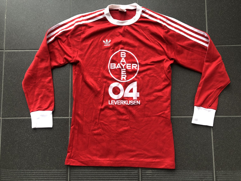 Bayer 04 Leverkusen Home football shirt 1978 - 1979. Sponsored by ...