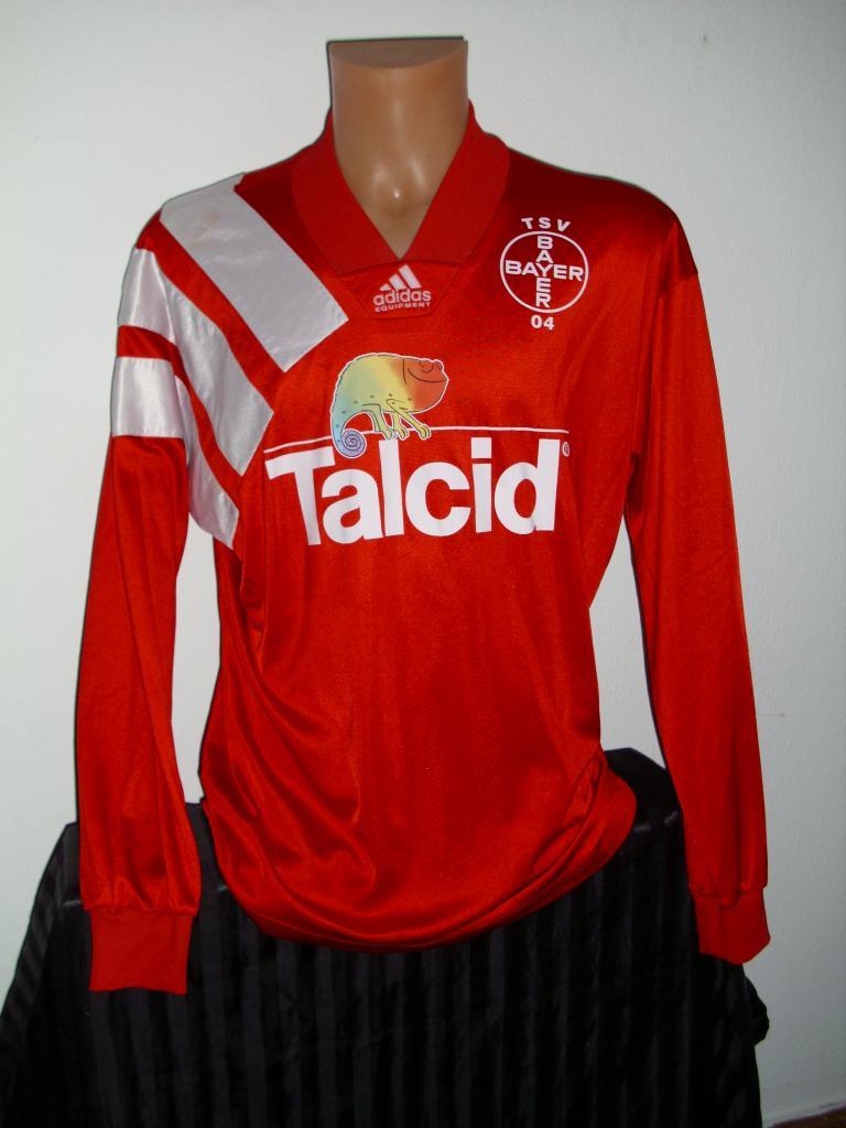 Bayer 04 Leverkusen Home Fußball-Trikots 1993 - 1994 ...