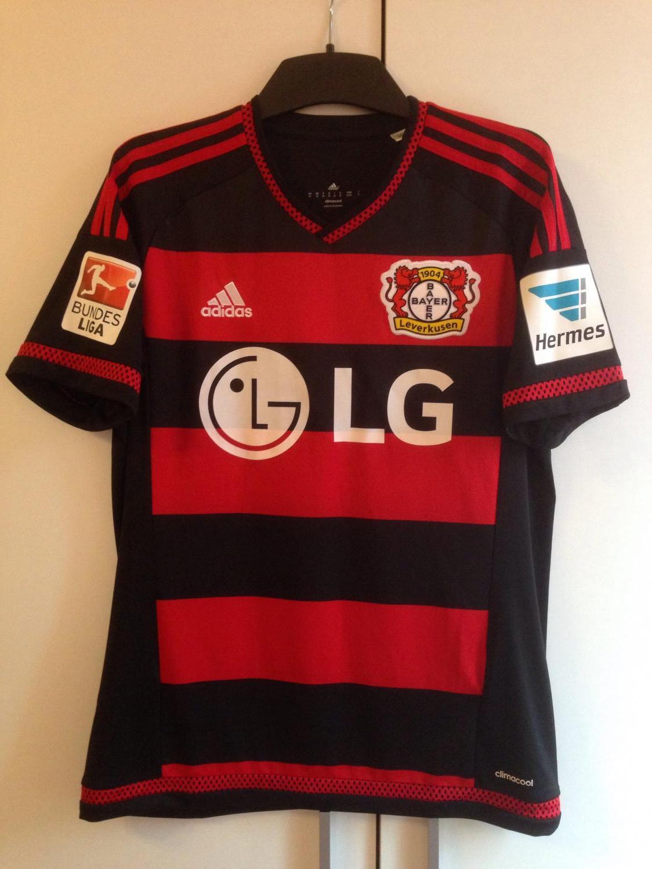 Bayer 04 Leverkusen Home Maillot de foot 2015 2016